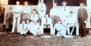 Anon-091-Old-pavilion-and-cricketers
